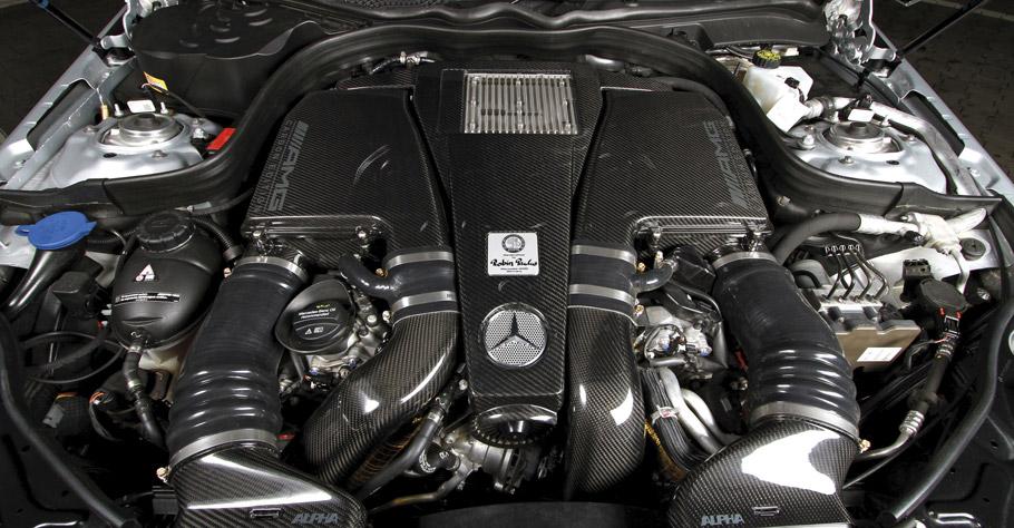 POSAIDON Mercedes-AMG E63 RS850 engine
