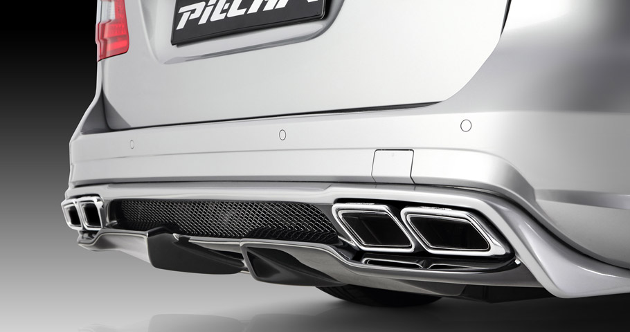 Piecha Design Mercedes-AMG E-Class W212 rear