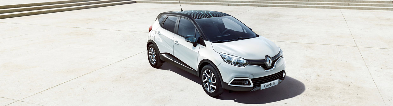 Renault Captur Iconic Nav front view