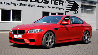 SPEED-BUSTER celebrates the 30th anniversary of BMW M5 with unique tuning program