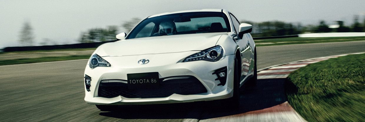 2016 Toyota 86 Facelift front view