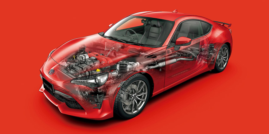 2016 Toyota 86 Facelift underneath