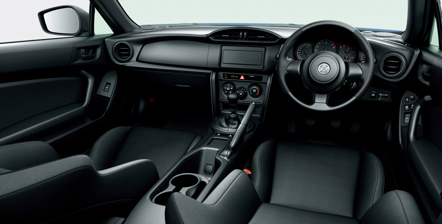 2016 Toyota 86 Facelift interior