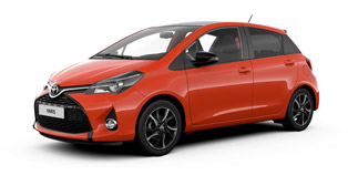 yaris orange edition: necessary or unneeded summer toy?