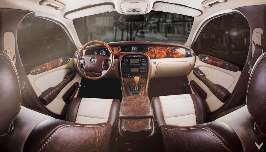Vilner Jaguar XJ Single Malt Interior Pic One