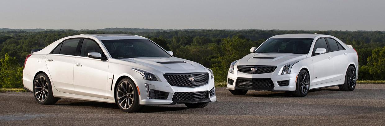 Cadillac CTS & ATS front view