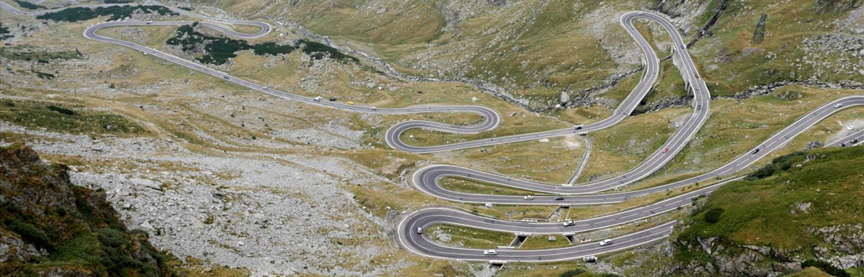 Europe's Greatest Driving Roads by ford