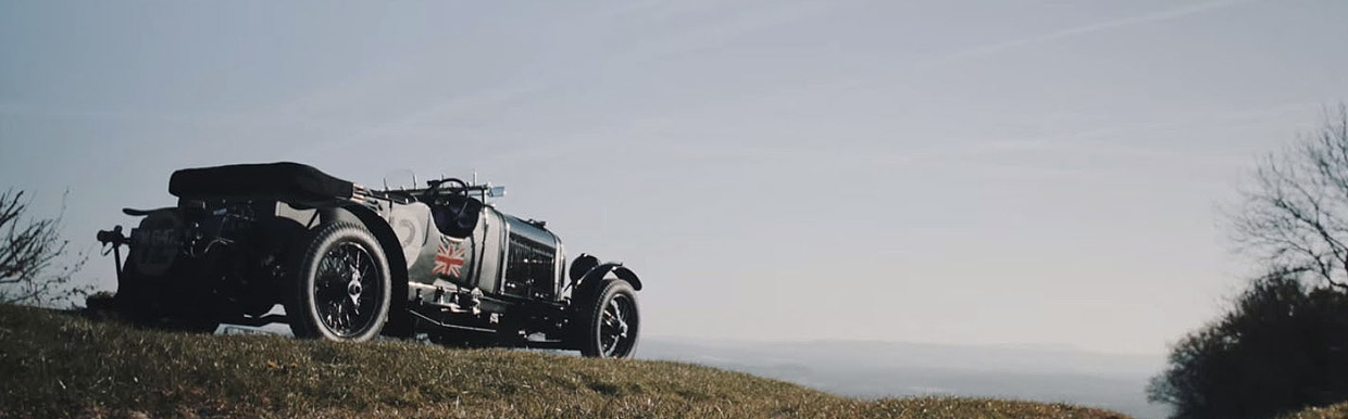 William Medcalf Vintage Bentley video