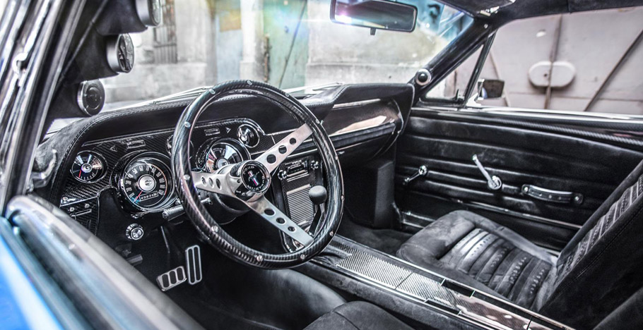 1967 Ford Mustang Fastback by Carlex Design interior side view