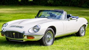 a 1973 jaguar f-type vehicle with exciting story is offered on sale at the silverstone auctions!