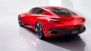 Acura Precision Concept has received some special attention at the Concours d'Elegance