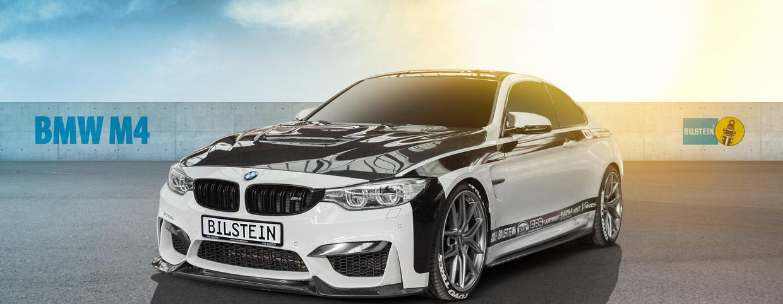 BILSTEIN BMW M4 front view