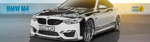 Driving the BMW M4 better with some help from BILSTEIN