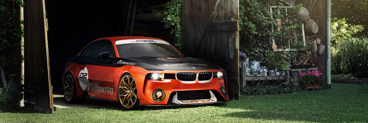 BMW 2002 Hommage Concept front view