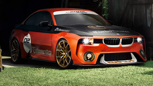 bmw 2002 hommage concept with cute new livery and dedication