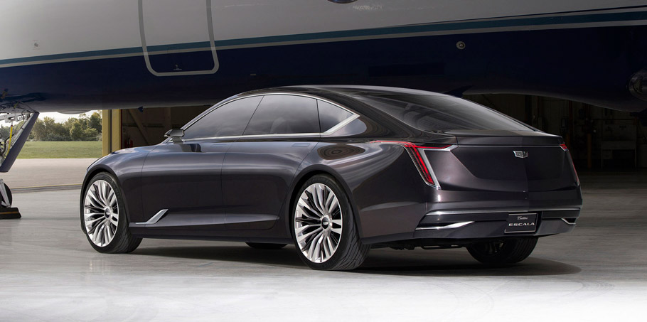 Cadillac Escala Concept side view