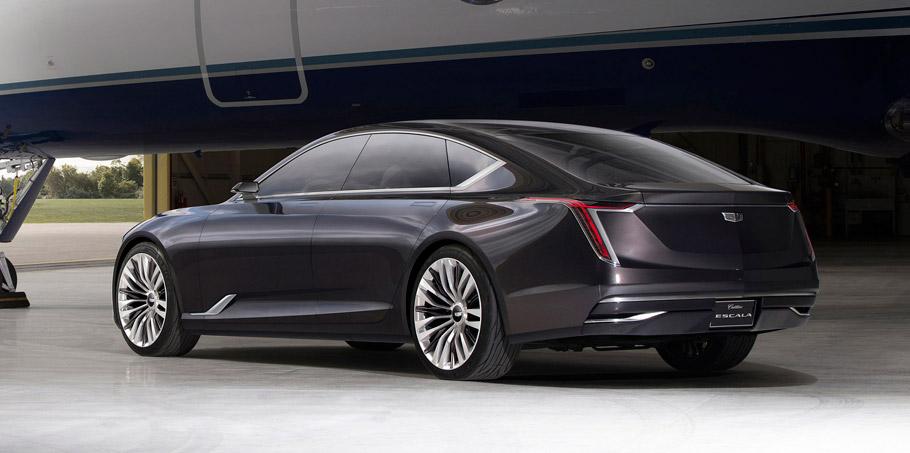 Cadillac Escala Concept side view