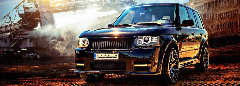 Carbon Motors Range Rover Onyx Concept front view