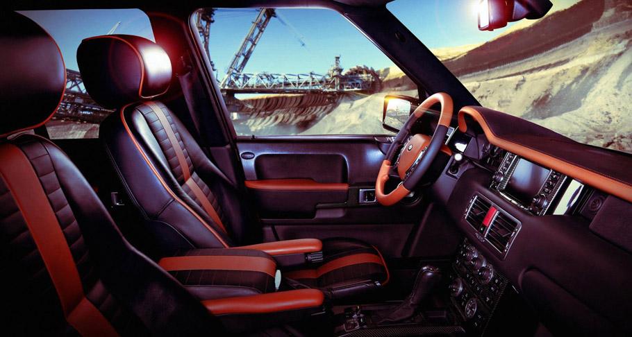 Carbon Motors Range Rover Onyx Concept interior