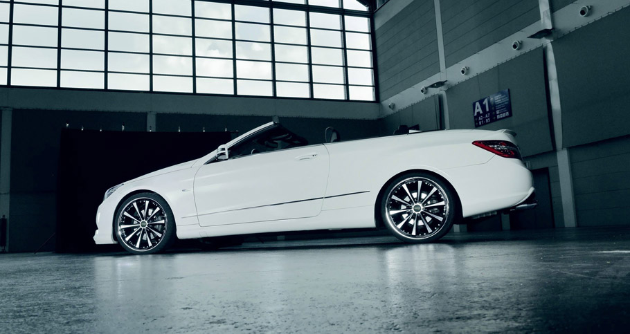 Cor.Speed Mercedes-Benz E-Class Cabriolet  rear and side view