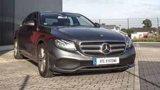 DTE Systems uprates the SENT engine generation of Mercedes-Benz E220 d