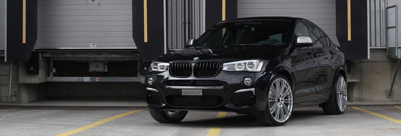 dÄHLer BMW X4 M40i front view