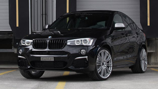 dÄHLer is taking the BMW X4 M40i to unknown levels of performance and aerodynamics