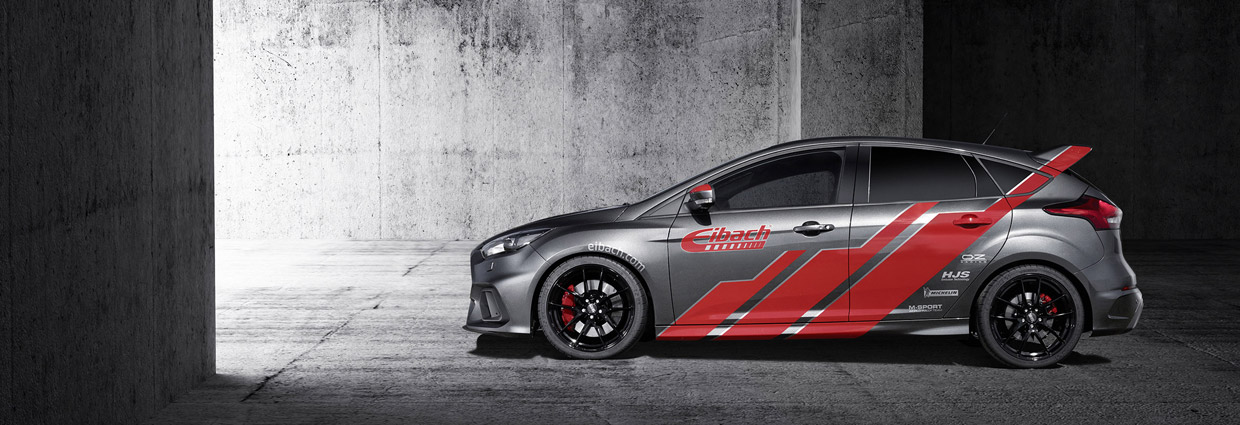 Eibach Ford Focus RS side view