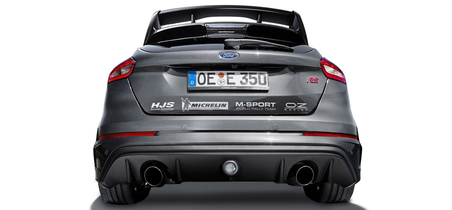 Eibach Ford Focus RS rear view