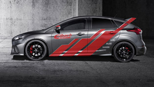 eibach competes wrc with the release of 350 hp ford focus rs