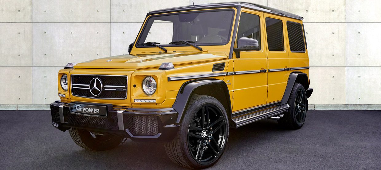 G-POWER Mercedes-AMG G63 front view