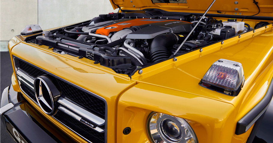 G-POWER Mercedes-AMG G63 engine