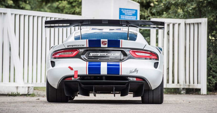 GeigerCars.de Dodge Viper ACR rear view