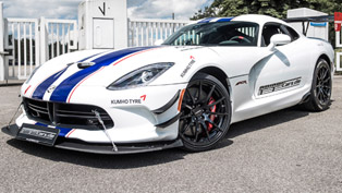 astonishing custom-made dodge viper acr reaches 765hp