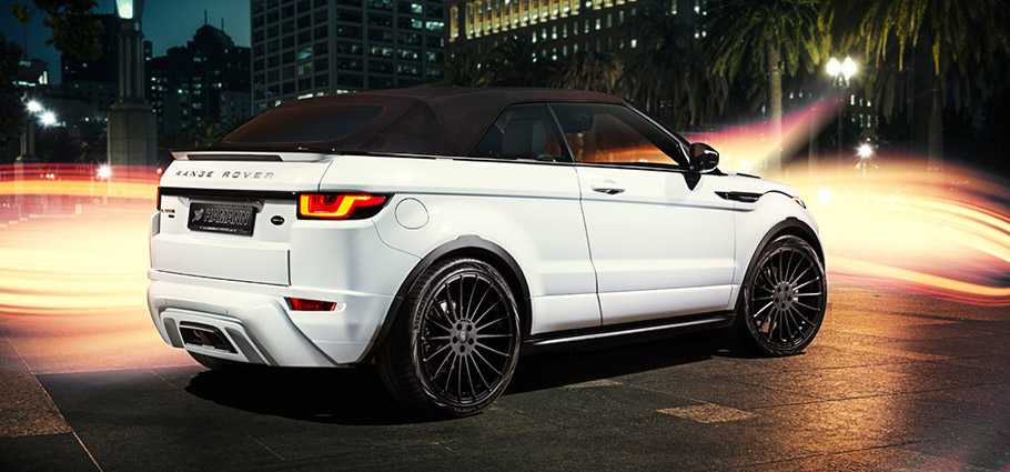 HAMANN Range Rover Evoque Convertible side view