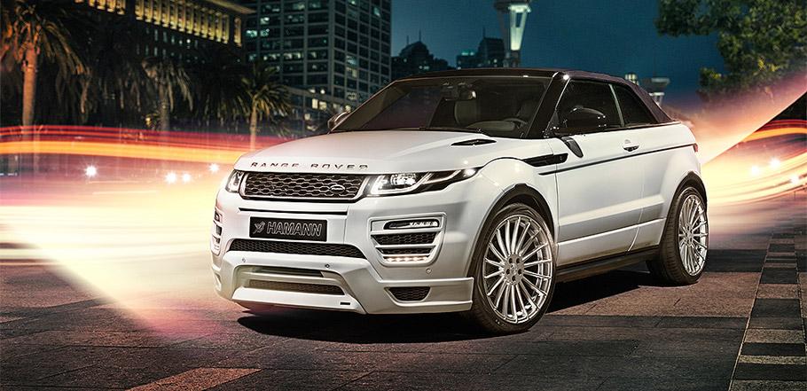 HAMANN Range Rover Evoque Convertible front view