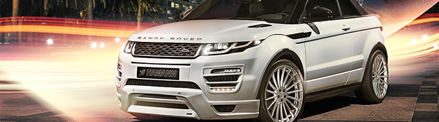 HAMANN launching beautiful Evoque Convertible tuning pack [w/video]