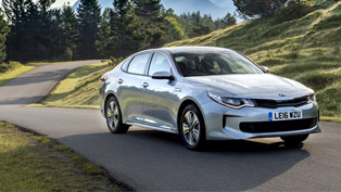kia reveals optima phev hybrid: here's why we liked this one
