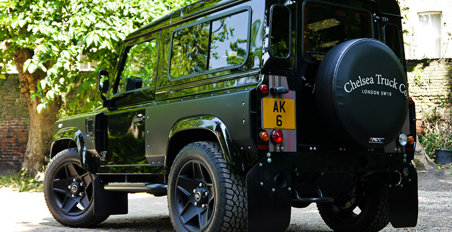 Kahn Land Rover Defender London Motor Show Edition CTC rear view