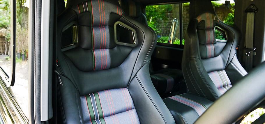 Kahn Land Rover Defender London Motor Show Edition CTC interior