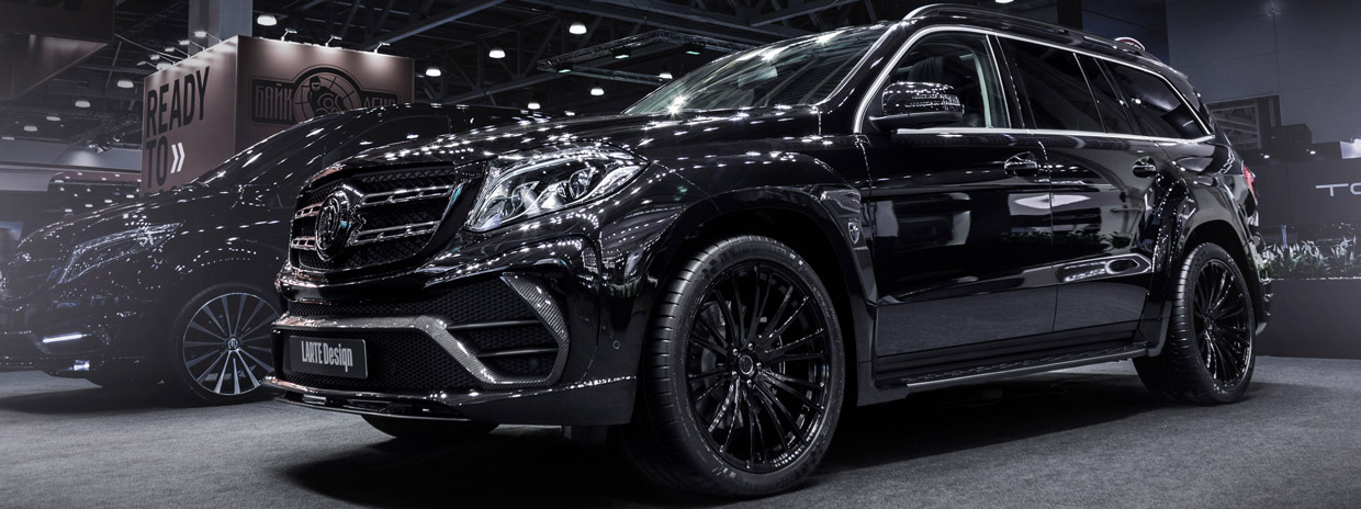 LARTE Design Mercedes-Benz GLS Black Crystal side view