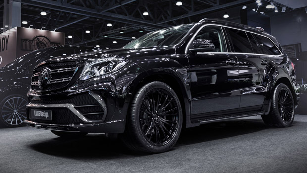 LARTE Design launching the outstanding Mercedes GLS Black Crystal
