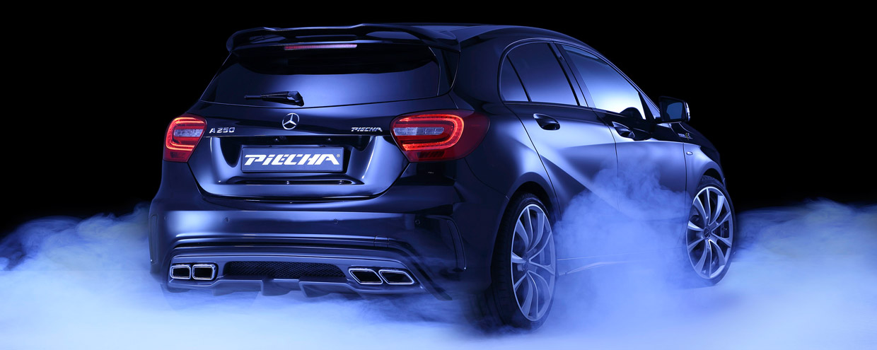 PIECHA Design Mercedes-Benz A-Class rear view