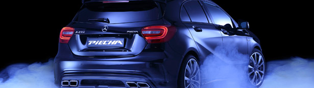 Mercedes A-Class: the controversial car is now in its best form after PIECHA's conversion
