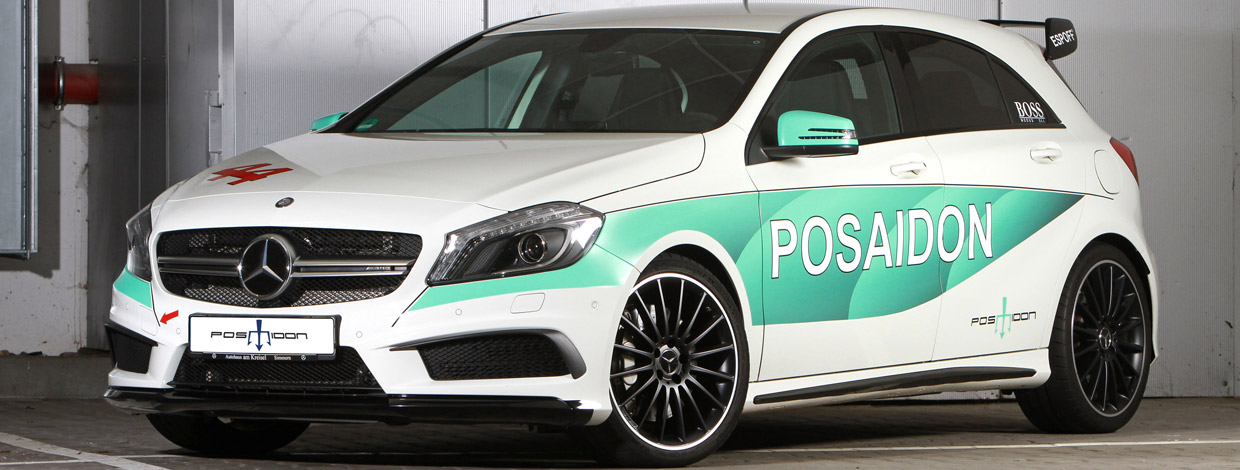 POSAIDON Mercedes-AMG A45 RS485 front view