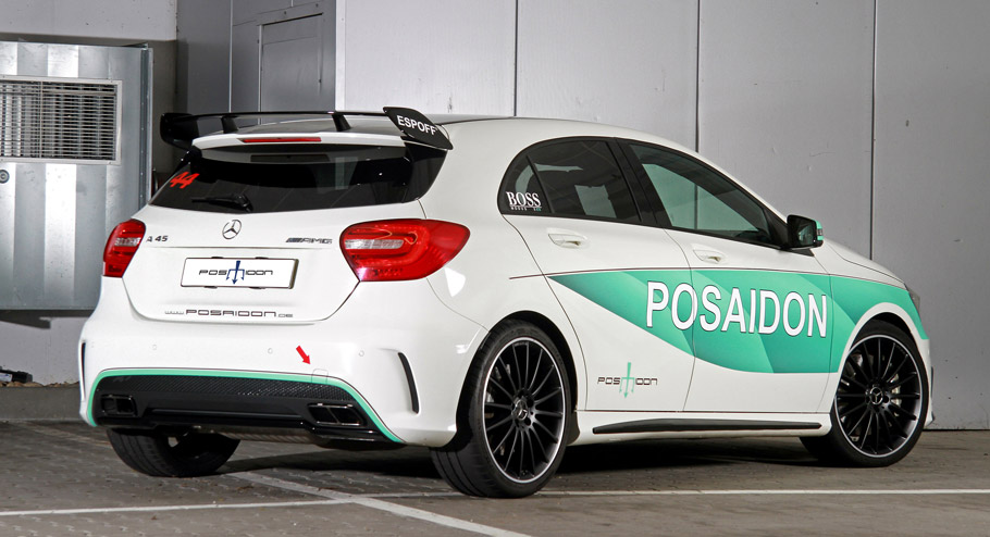 POSAIDON Mercedes-AMG A45 RS485 rear view