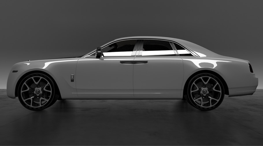 2016 Rolls-Royce Bengala Automotive and Vitesse Audessus Project