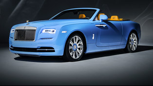Imagine a Bespoke Rolls-Royce Dawn Cabriolet in Blue! You are welcome!