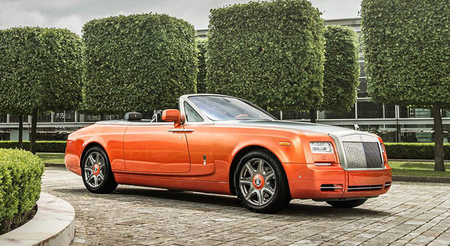 Rolls-Royce Phantom Drophead Coupe Beverly Hills Edition side view