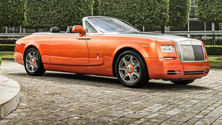 stunning phantom drophead coupe is beverly hills-inspired masterpiece